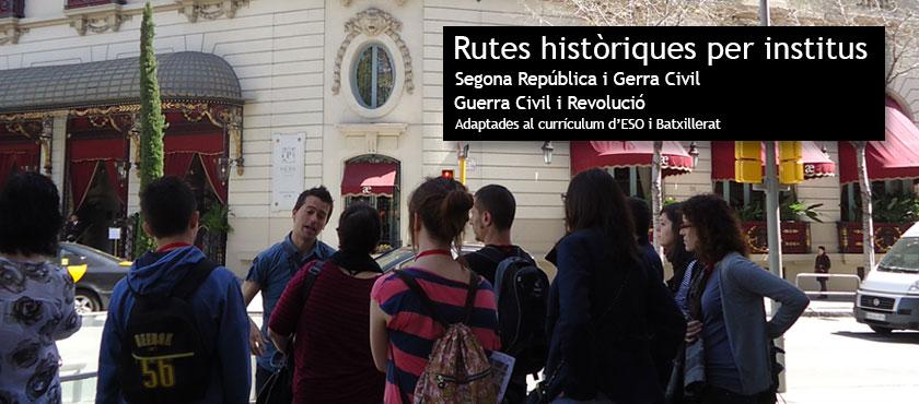 Ruta para Institutos Barcelona