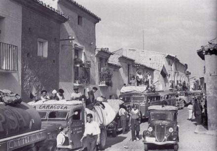 Ruta Frente de Aragon Milicias Bujaraloz