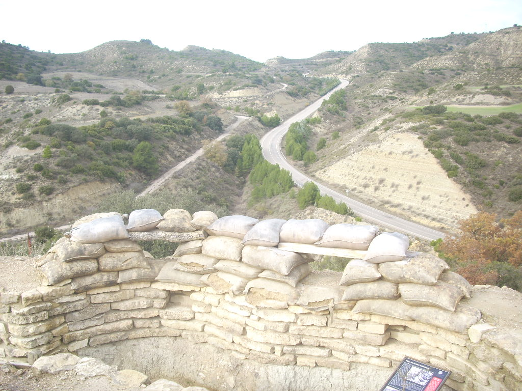 Ruta Frente Aragón Orwell