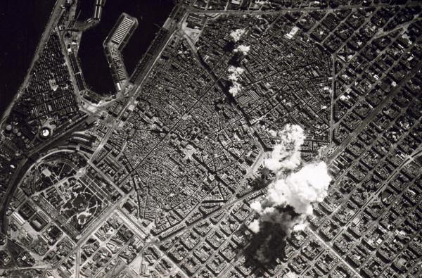 Ruta Bicicleta Barcelona bombardeada